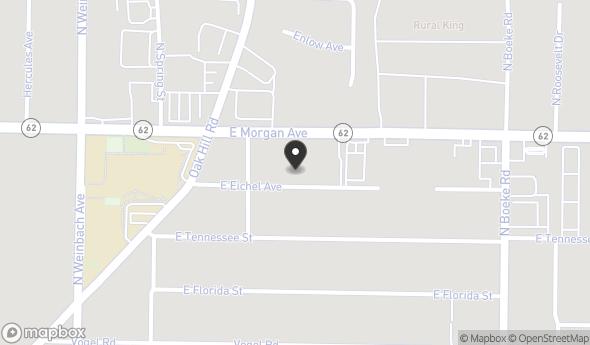 Location of 2174 E Eichel Ave, Evansville, IN 47711