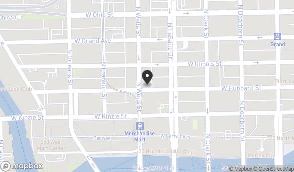 Location of 162 W Hubbard St, Chicago, IL 60654