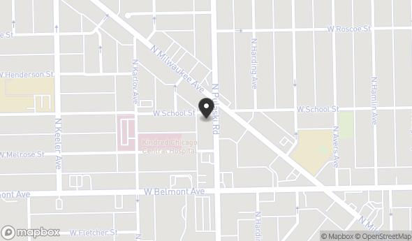 3256 N Pulaski Rd Map View