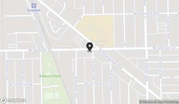 4325 W Addison St Map View