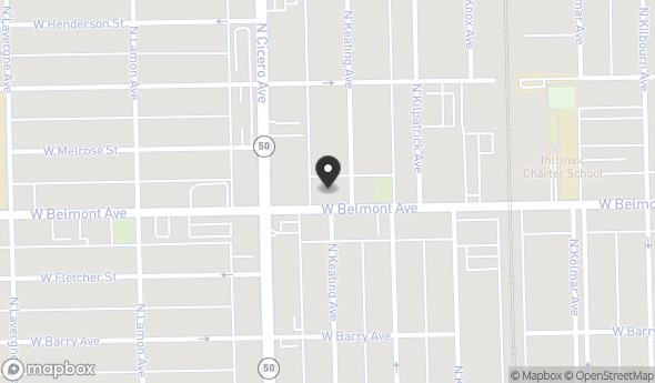 Location of 4744 W Belmont Ave, Chicago, IL 60641