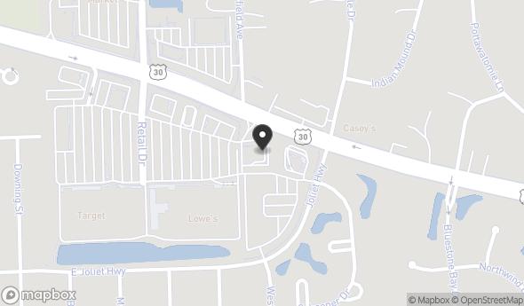 Location of Bluestone Commons Outparcel: 2550 E Lincoln Hwy, New Lenox, IL 60451