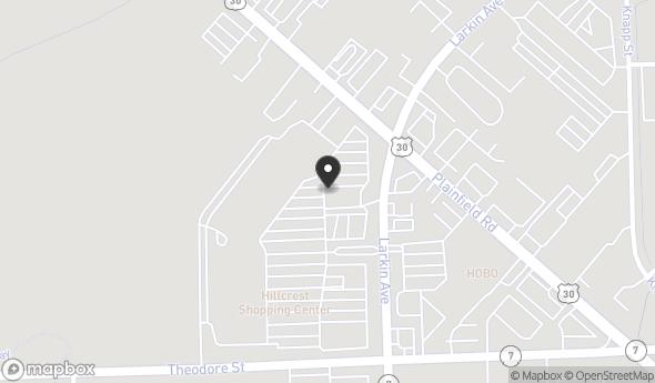 Location of HILLCREST SHOPPING CENTER: SWC Plainfield Road & Larkin Avenue, Crest Hill, IL 60403
