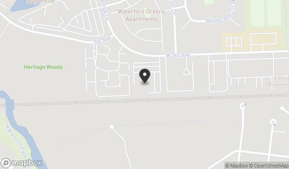 Location of 800 W 5th Ave, Naperville, IL 60563