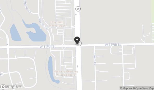 Location of PLAINFIELD MARKETPLACE: IL-59 & 119th St, Plainfield, IL 60585