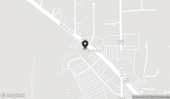 7941 Moffett Rd Map View