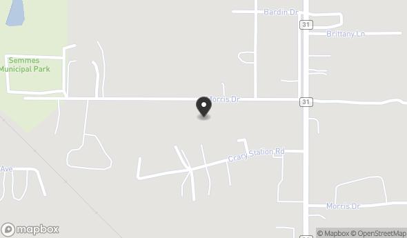 Location of 7911 Morris Hill Rd, Semmes, AL 36575