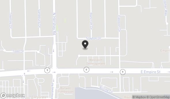 Location of 4 Westport Ct, Bloomington, IL 61704