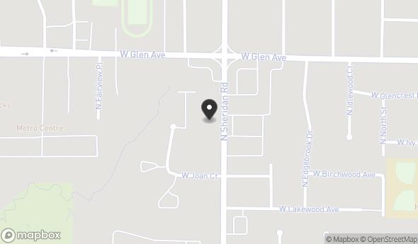 Location of 4727 N Sheridan Rd, Peoria, IL 61614