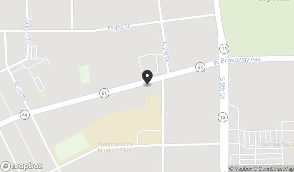 Location of 674 E Broadway Ave, Medford, WI 54451