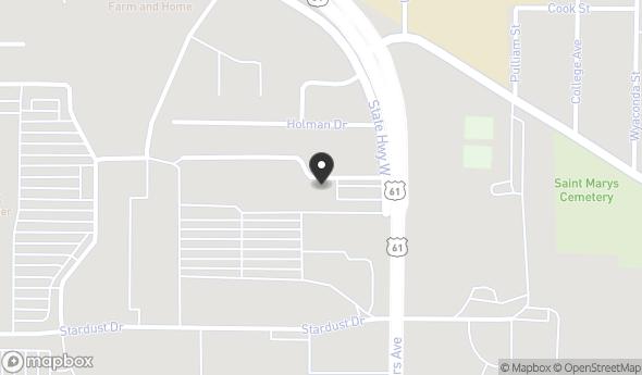 Location of 31 Melgrove Ln, Hannibal, MO 63401