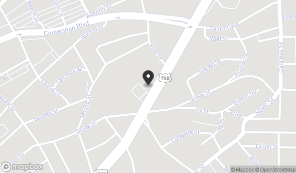 633 E Grand Ave Map View