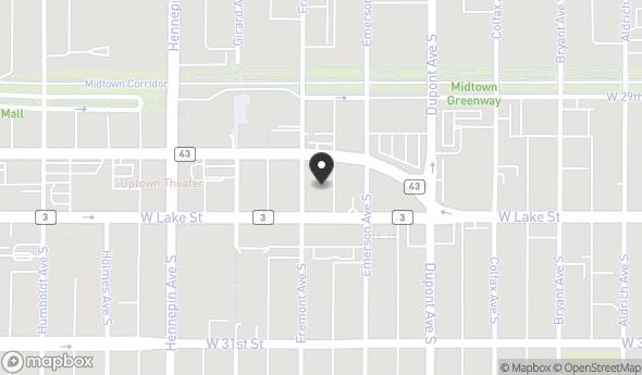 Location of 1220 W Lake St, Minneapolis, MN 55408