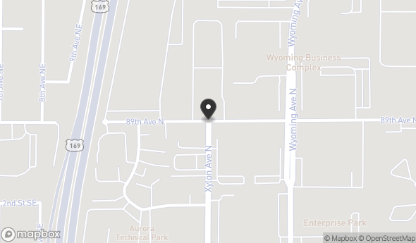 10351 Xylon Ave N Map View