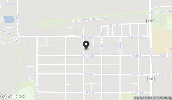 Location of 421 Main St, Slater, IA 50244