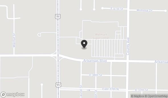 Location of Former Sallys'Beauty Supply: 131 Arkansas Blvd, Texarkana, AR 71854