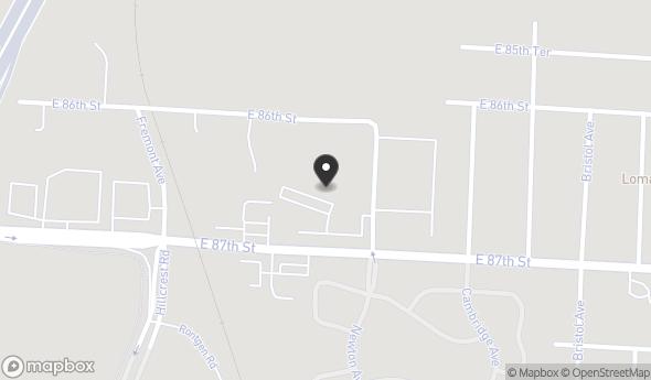Location of 6600 East 87th Street, Kansas City, MO 64138