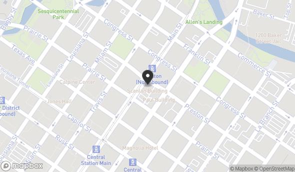 Location of Scanlan Building: 405 Main St, Houston, TX 77002