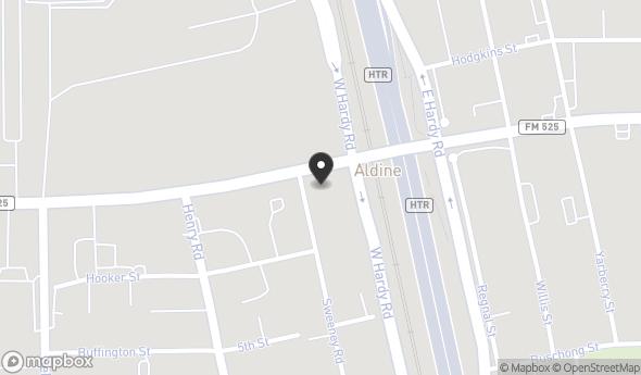 Location of W. HARDY BUSINESS PARK: W Hardy Road, Houston, TX 77060