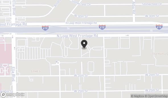 Location of 1415 North Loop W, Houston, TX 77008