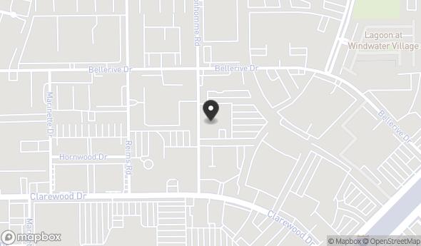 Location of 6201 Bonhomme Rd, Houston, TX 77036
