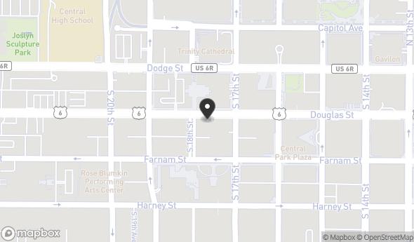 Location of The Brandeis Building: 1705 Douglas St, Omaha, NE 68102