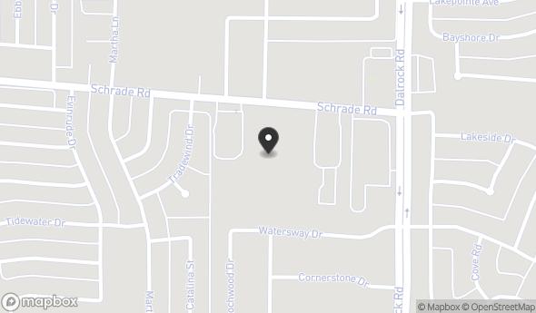 Location of 8210 Schrade Rd, Rowlett, TX 75088