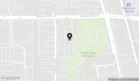 2636 Walnut Hill Lane Map View