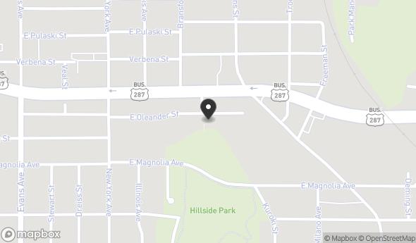 1150 East Oleander Street Map View