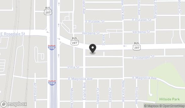 911 East Oleander Street Map View