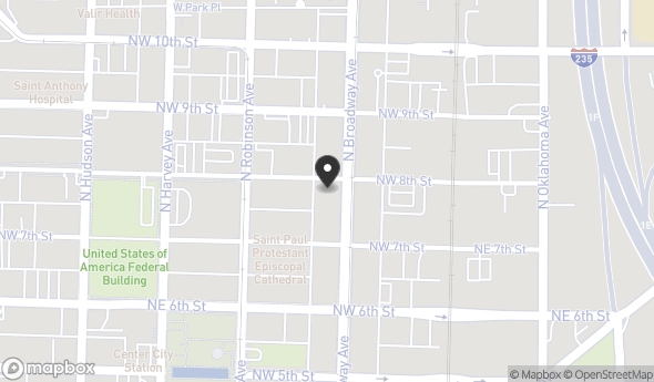 Location of HUDSON ESSEX BUILDING: 825 N. BROADWAY AVENUE, Oklahoma City, OK 73102
