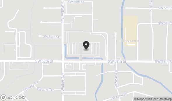 Location of WALKER SQUARE SHOPPING CENTER: SW 59TH ST. & WALKER AVE., Oklahoma City, OK 73149