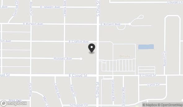 Location of COUNTRYSIDE PLAZA: 1638 S Ohio St, Salina, KS 67401
