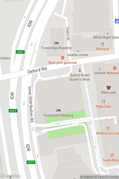 A map indicating the location of My Shadow and Me