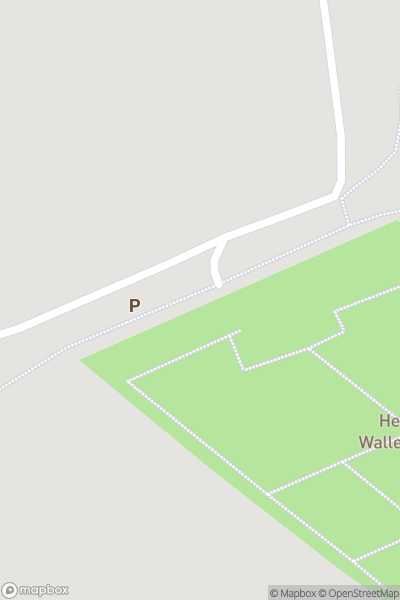 A map indicating the location of Helmsley Walled Garden
