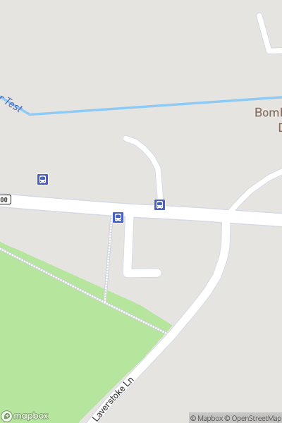 A map indicating the location of Bombay Sapphire Distillery