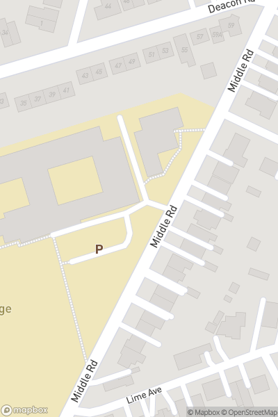 A map indicating the location of Itchen Sixth Form College