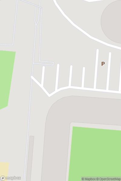 A map indicating the location of St Mary's Stadium