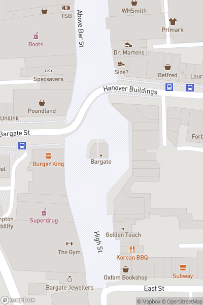 A map indicating the location of Yomp and Chomp