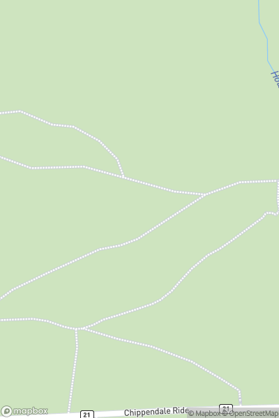 A map indicating the location of Otley Chevin