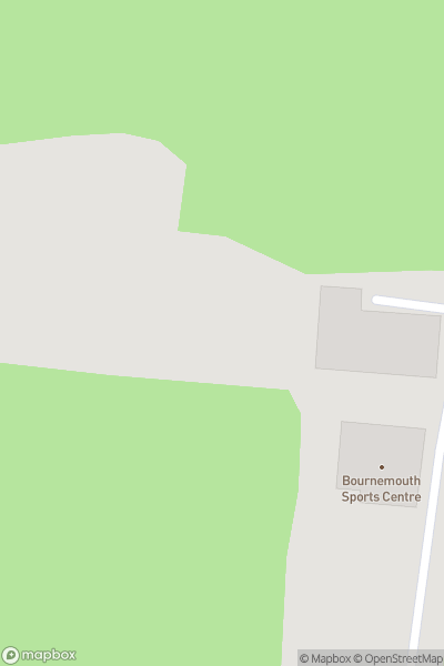 A map indicating the location of Bournemouth 7s
