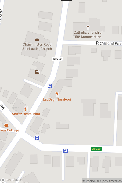 A map indicating the location of 10% discount on food and drink