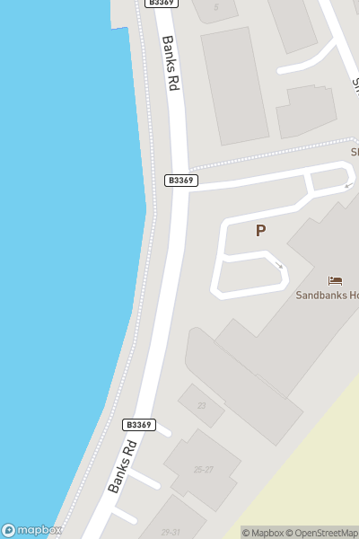 A map indicating the location of British Beach Polo Championships