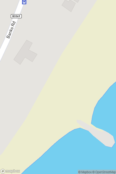 A map indicating the location of SandFest