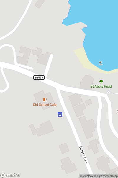 A map indicating the location of St Abbs Market