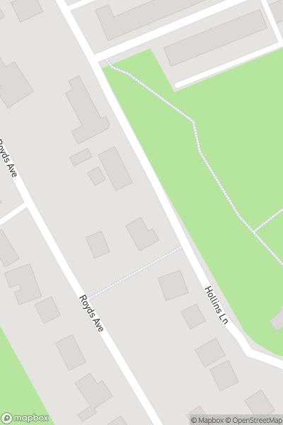 A map indicating the location of Haworth Art Gallery, Accrington