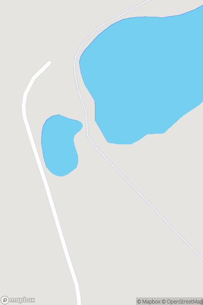 A map indicating the location of Foxlake Adventures, Dunbar