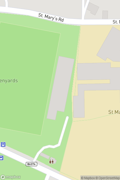 A map indicating the location of The Proclaimers perform in Melrose