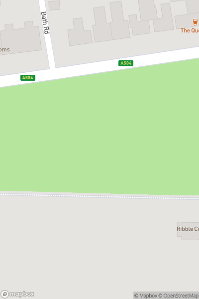 A map indicating the location of Lytham Festival 2019