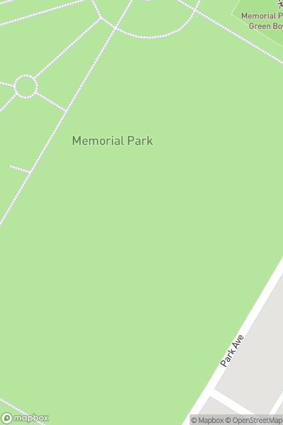 A map indicating the location of Fleetwood Memorial Park